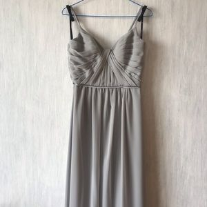 SORELLA VITA Dresses - Sorella vita Gray Bridesmaid dress